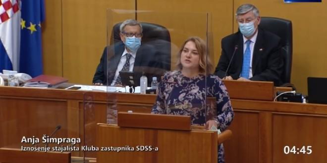 GOVOR KOJI OSTAVLJA TRAG Zastupnica SDSS-a o bijegu od Oluje: Pred vama stoji djevojčica iz kolone