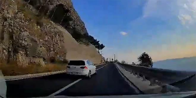 NEPROPISNO PRETJECANJE AUTOMOBILA Na cesti Makarska - Vrgorac