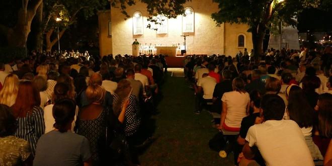 Hodočašće mladih Splitsko-makarske nadbiskupije od prasvetišta Gospe od Otoka (Solin) do svetišta Gospe Sinjske (Sinj)