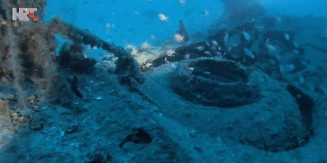 Pronađen bombarder u Biševskom kanalu