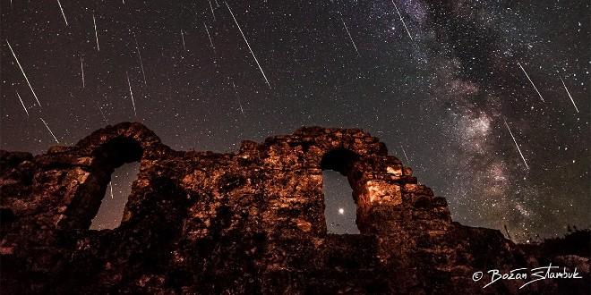TAJNE SUZA SV. LOVRE Astronom otkriva: 'Bljesak koji vidimo može biti dug 20-30 kilometara, a komadić koji to napravi je veličine pahuljice'