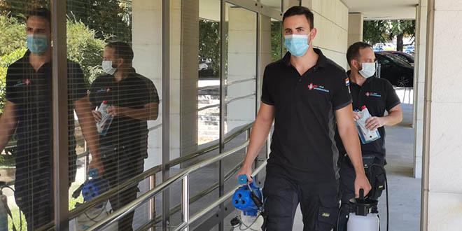 KORONA U SPLITSKOJ PALAČI PRAVDE Pozitivna službenica DORH-a, stigla ekipa za dezinfekciju