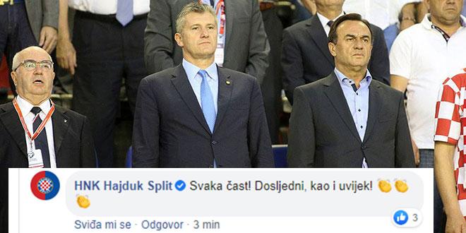 Pogledajte kako se Hajduk narugao HNS-u