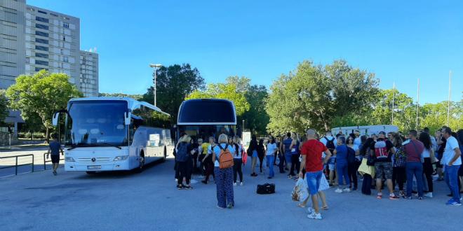 VIDEO Iz Splita krenuli autobusi za Zagreb, popodne se održava Festival slobode