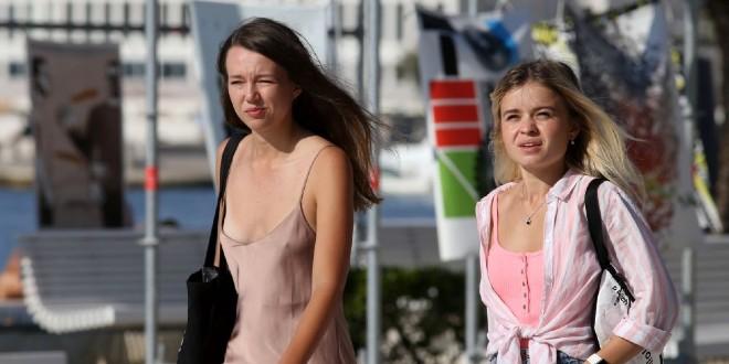 FOTOGALERIJA Splitska Riva sprema se za jesen