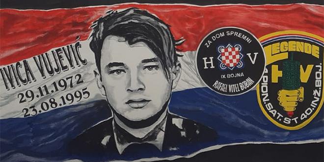 NOVI MURAL Sućidar odao počast mladiću koji je dao život za Hrvatsku