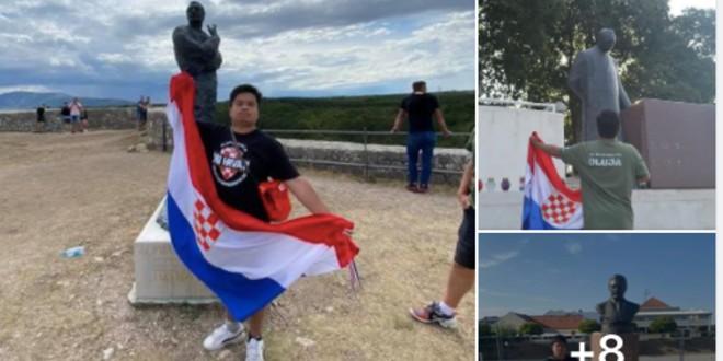 KINEZ USTAŠA Odlazi iz Hrvatske i poručuje: 'Franjo Tuđman naš je najveći heroj, Katarina Peović je najveći zločinac, a ružna žena bit će samo u paklu'