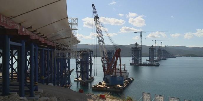 VIDEO Pogledajte kako napreduje gradnja Pelješkog mosta