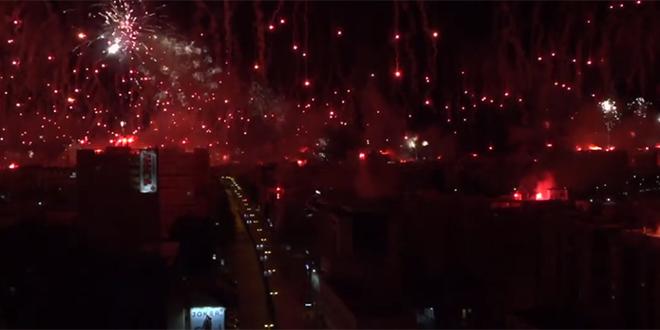 VIDEO Hajduk je prenosio Torcidin rođendanski show, pogledajte...