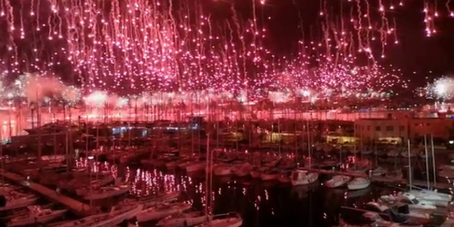 GORI SVE Fenomenalan video iz centra Splita