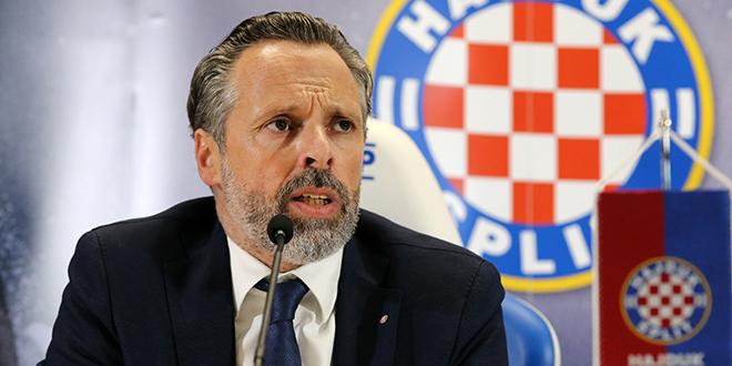 INTERVJU Lukša Jakobušić: Želja mi je financijski pokriti sezonu bez prodaje Vuškovića, a svaki mjesec moramo osigurati 286 dohodaka