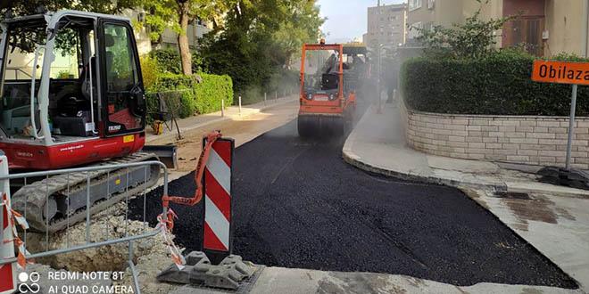 Nakon više od 50 godina kompletno zamijenjene vodovodne cijevi u Ulici Vojka Krstulovića u Splitu
