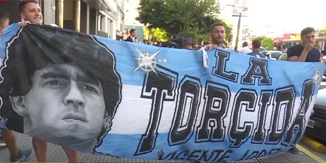 I Hajduk se oprostio od Maradone