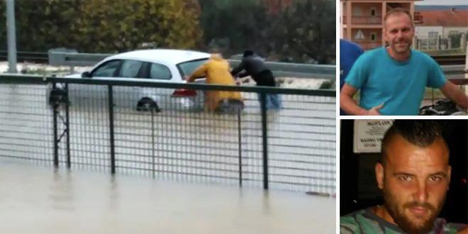 Spasili trudnicu koju je voda zatočila u autu u Kaštel Gomilici: 'Mislio sam da će je bujica odnijeti na prugu'