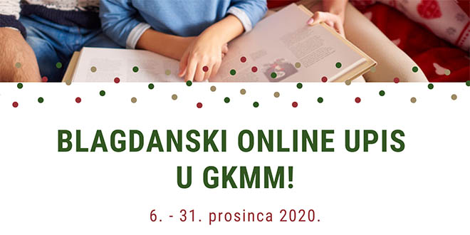 Poklonite za blagdane svome djetetu besplatan upis u GKMM Split!