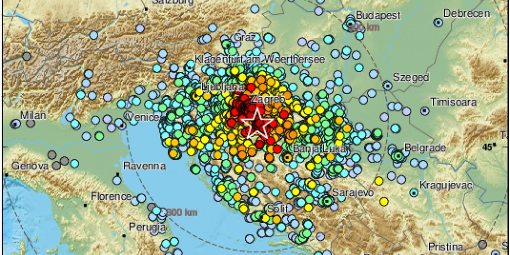 PETRINJA Novi potres
