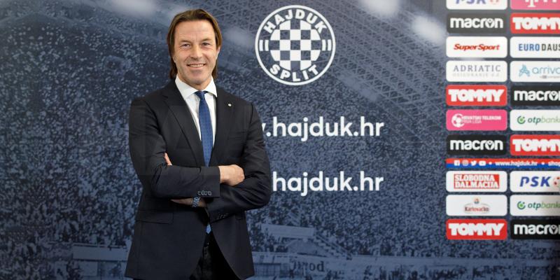Paolo Tramezzani novi trener Hajduka!