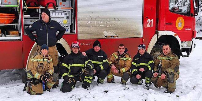 Splitski vatrogasci se vratili iz Petrinje