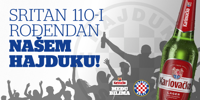 Kad je Hajdukov rođendan, svi slave!