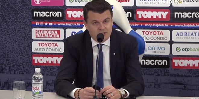 Nikoličius nije dao odgovor je li Hajduk platio odštetu za Kačaniklića
