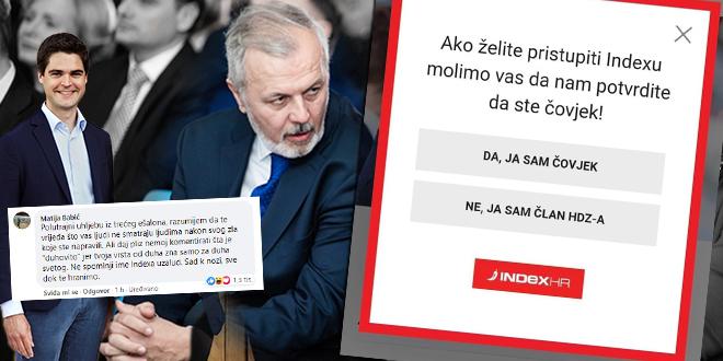 Ante Sanader Indexov potez nazvao 'degutantnim činom', Matija Babić odgovorio Karlu Ressleru