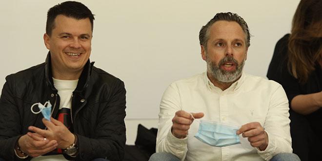 Jakobušić i Nikoličius došli podržati Split protiv Crvene zvezde