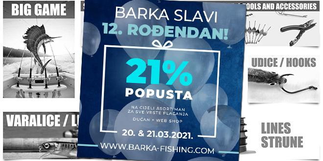 VJERNOST SE ISPLATI Ribolovni centar Barka slavi 12. rođendan