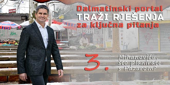Vice Mihanović: Grad je preuzimanjem tržnica preuzeo i obvezu investiranja