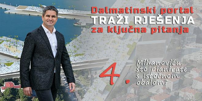 Vice Mihanović: Na projektu Istočne obale se radi svakodnevno, a skorim izmjenama GUP-a postat će još bliži realizaciji