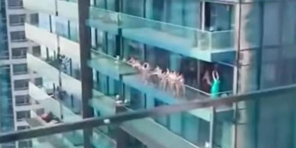 VIDEO Policija u Dubaiju uhitila turistkinje koje su se fotografirale gole na balkonu