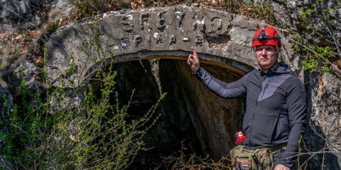 FOTO/VIDEO Napušteni rudnik boksita na planini Visoka kraj Sinja