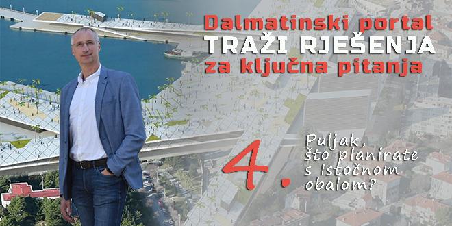 Ivica Puljak o Istočnoj obali: Zalagat ćemo se za sveobuhvatni pristup koji započinje dovršetkom strategije razvoja grada u prvoj godini mandata