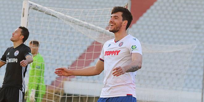 KRAJ: Hajduk u 96. minuti s igračem manje golom Umuta stigao do izjednačenja!
