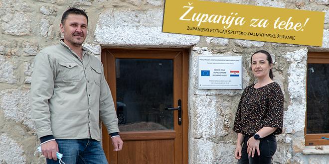 'Županija za tebe' pretvara ideje u realnost: Obitelj Radoš pokrenula posao na djedovini