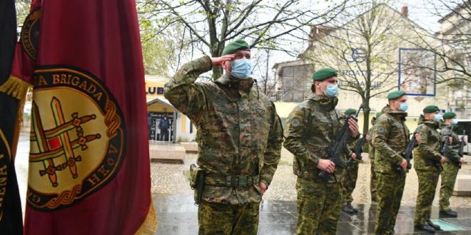 U Kninu svečano obilježena 14. obljetnica Gardijske mehanizirane brigade