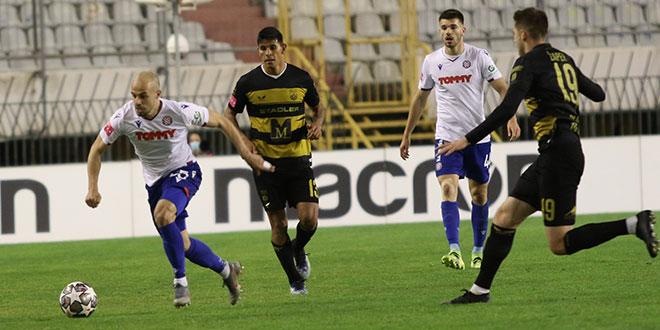 DUPLIN OSVRT: Bezopasni Hajduk je izgubio od bolje momčadi