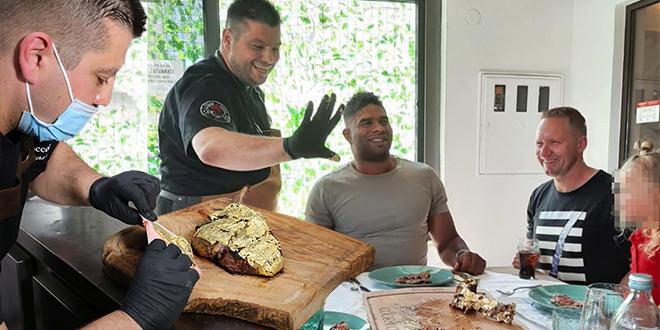 ALISTAIR OVEREEM PONOVNO U DALMACIJI Slavni Nizozemac uživa u zlatnom ručku u restoranu Coccolo!