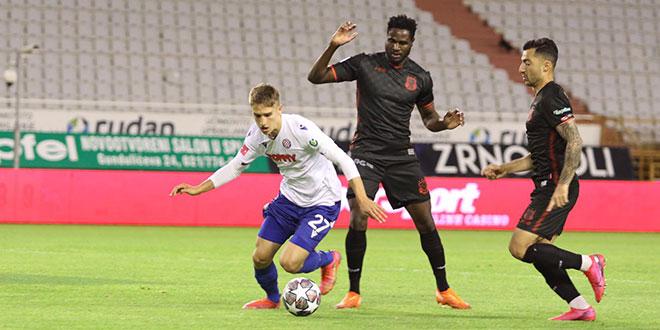 KRAJ Hajduk razbio Goricu 4:0!