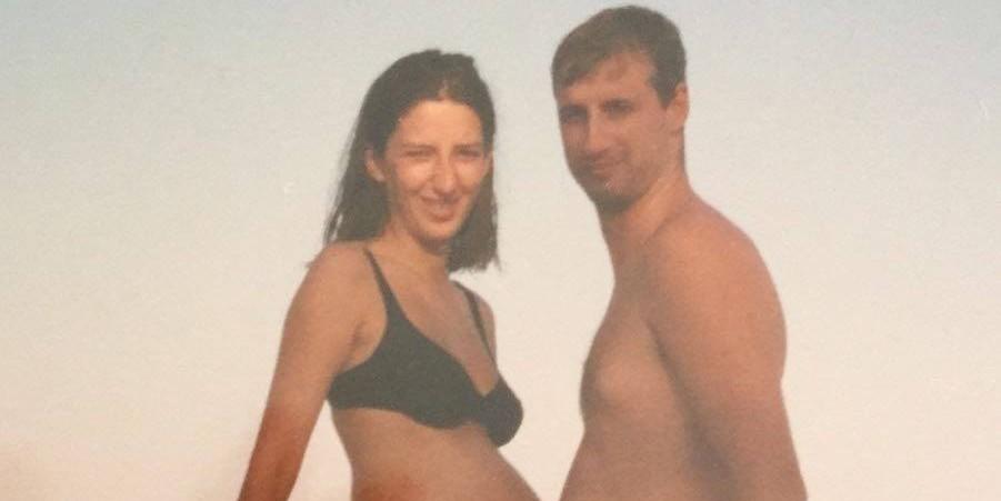 KOLOVOZ 1996.: Marijana Puljak objavila trudničku fotografiju u bikiniju