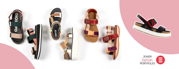 JOKER FASHION PORTFOLIO Sportske sandale su modni izazov sezone