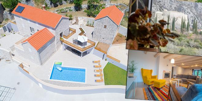 NAJBOLJE OD DALMACIJE Kamena kuća kraj Sokol kule idealna je za obiteljski odmor