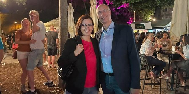 FOTO/VIDEO Šušur i večeras u Đardinu, stigli Marijana i Ivica Puljak