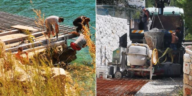 Zatražena žurna zabrana neovlaštenih radova i devastacije pomorskog dobra u Bobovišću