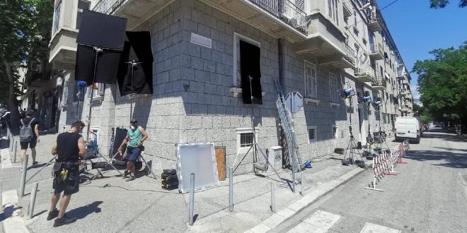 FOTOGALERIJA U Splitu se snima film 'The Weekend Away' u produkciji Netflixa