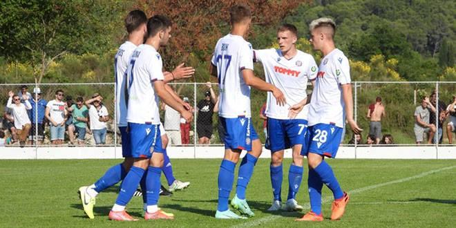 FOTOGALERIJA I VIDEO Hajduk zabio devet golova na fešti Slavena