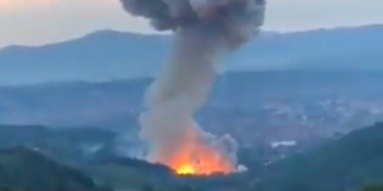 Izbio požar pored srpske tvornice streljiva