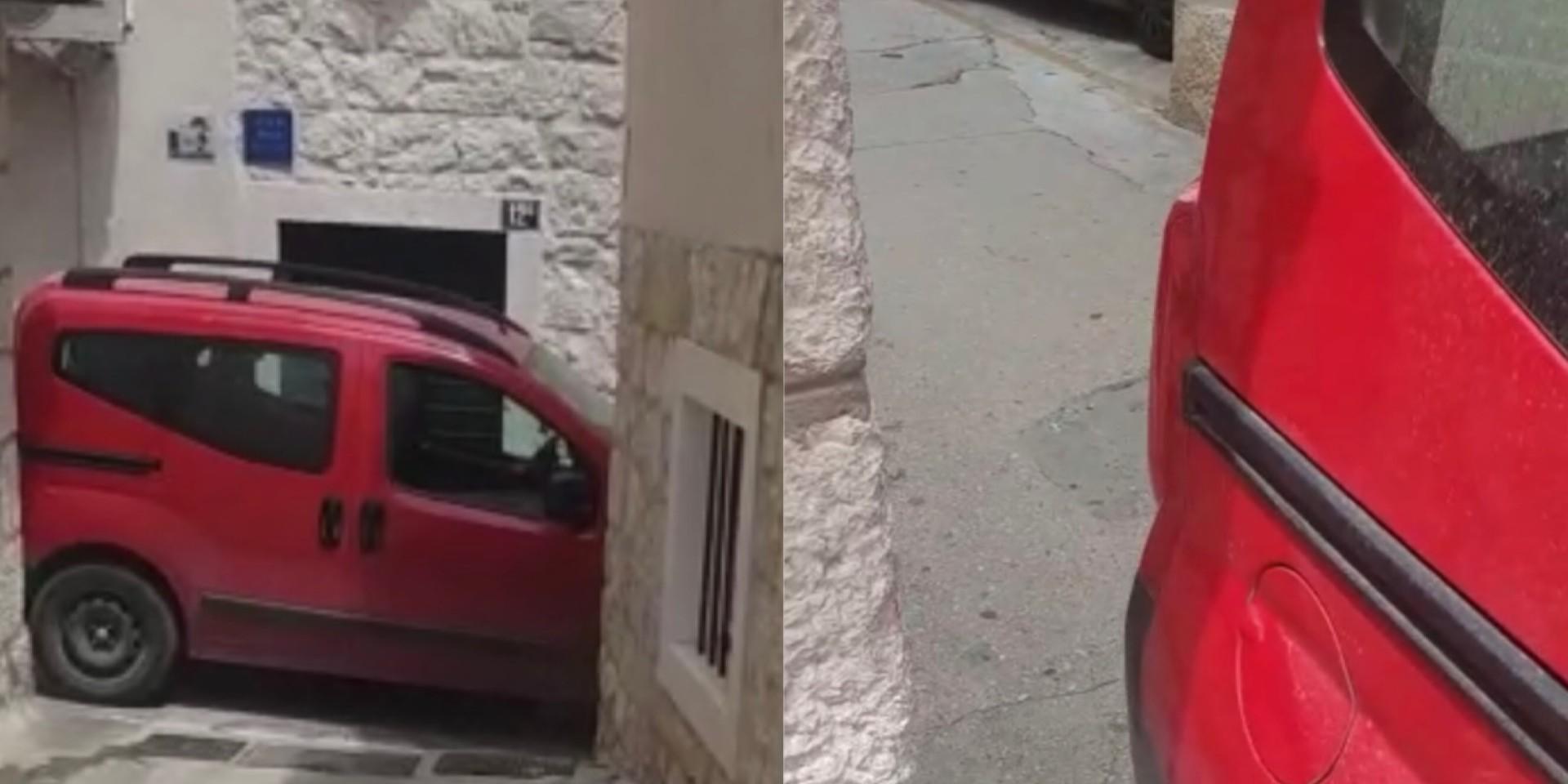 VIDEO Parkiranje u Varošu stanovnike dovodi do ludila
