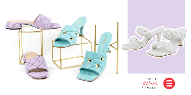 JOKER FASHION PORTFOLIO Puffy natikače - udobne poput papuča, elegantne kao za bal