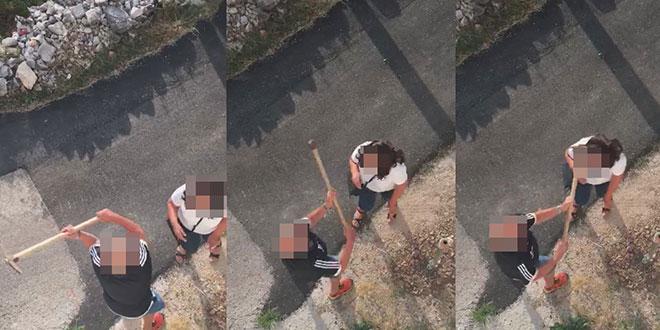 BEZ PRITVORA Državno odvjetništvo pustilo na slobodu čovjeka koji je mašklinom udario ženu u glavu