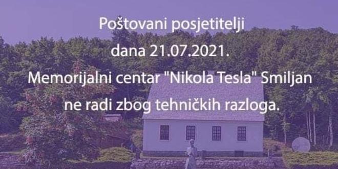 MUZEJ NIKOLA TESLA 'Nema struje pa je zatvoren'